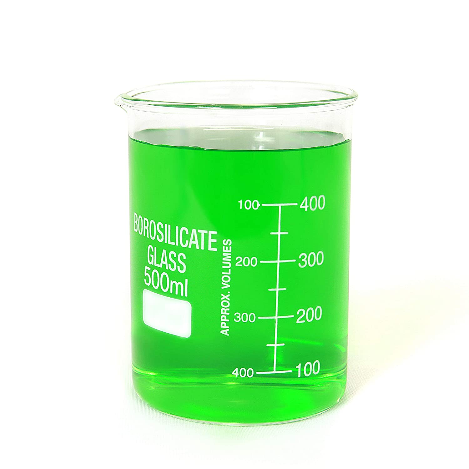 500mL Ajax Scientific Borosilicate Glass Graduated Beaker