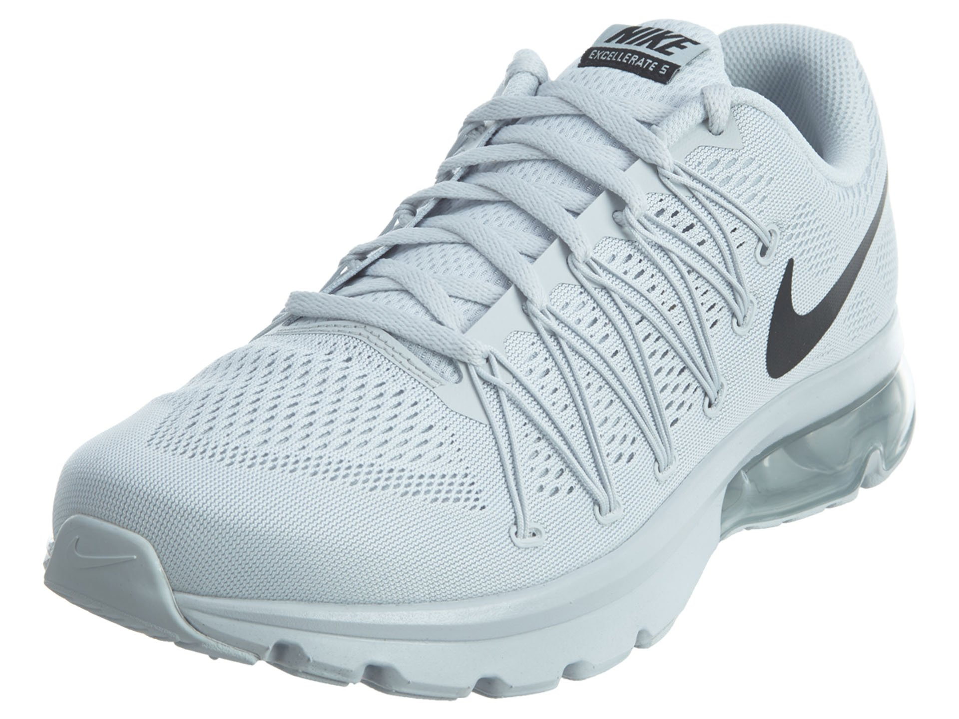 on sale ca981 5e3e0 Nike Men Air Max Excellerate 5 - Pure Platinum/Black (10)