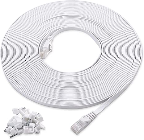 Cable Matters Snagless Long Cat6 Ethernet Cable in Black 150 ft Cat6 Cable, Cat 6 Cable