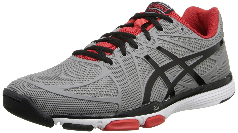 ASICS Men's Gel Exert TR Training Shoe B00KOL95JM 12.5 D(M) US|Cement/Black/Red