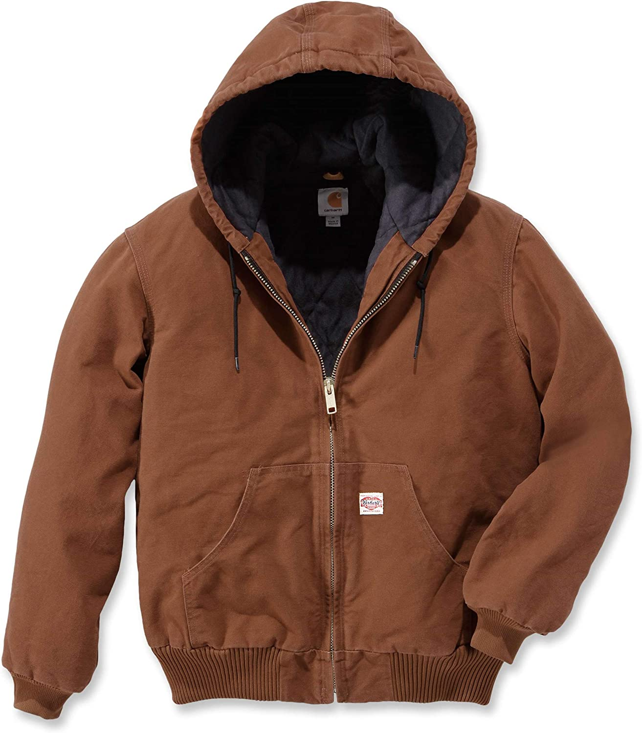 Carhartt Men Winter Jacket Heritage Duck Active