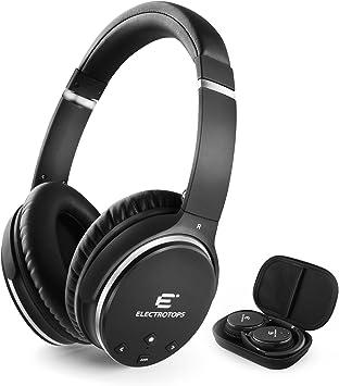 Auriculares Bluetooth,Auriculares Inalámbricos con Micrófono Estéreo de alta Fidelidad Plegable para el oído,Admite llamadas Manos Libres y Modo Cableado para PC Teléfonos Celulares TV (noise cancelling headphones): Amazon.es: Electrónica