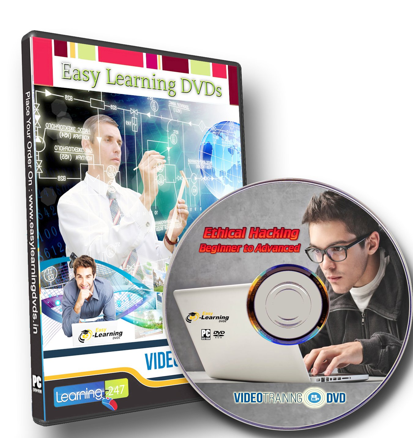 Ethical Hacking Course Beginner to Advanced Video Training DVD