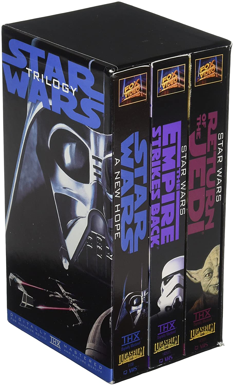 Amazon com: Original Version Star Wars Trilogy VHS Box Set