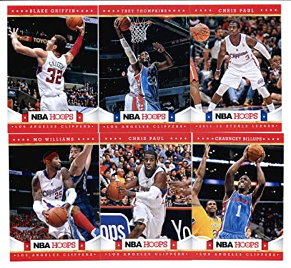 2012-13 Panini NBA Hoops Los Angeles Clippers Team Set (11