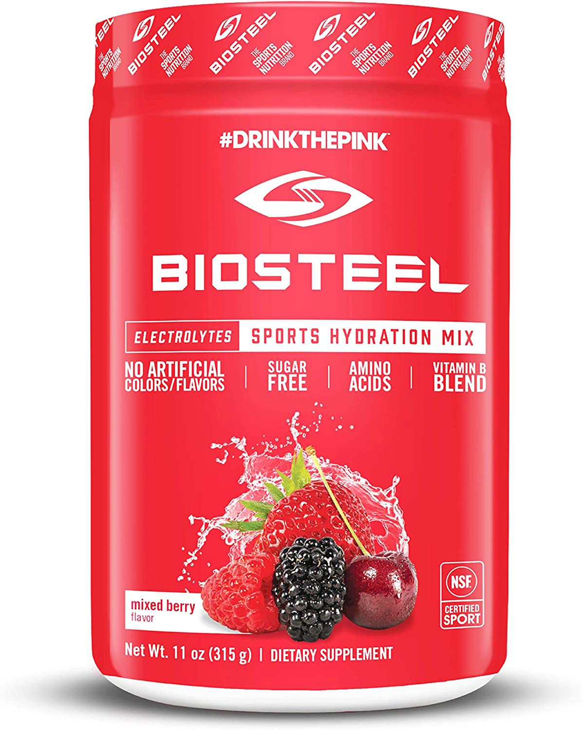 Photo of a BioSteel Electrolytes