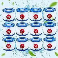 LXTOPN Type VI Pool Filter Cartridge, Filterpatronen voor Bestway Flowclear Pool Filter, Filter Vervanging Cartridge…