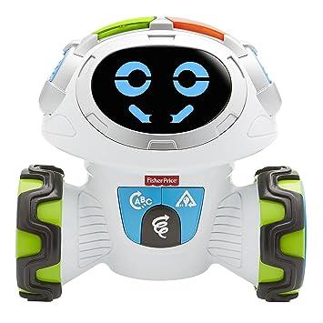 Fisher-Price Movi Superrobot, versión Portuguesa, juguetes niños 3 años (Mattel FPR09)