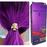Premium Permanent Hair Colour Cream Dye Goth Cosplay Emo Punk 0/44 VIOLET