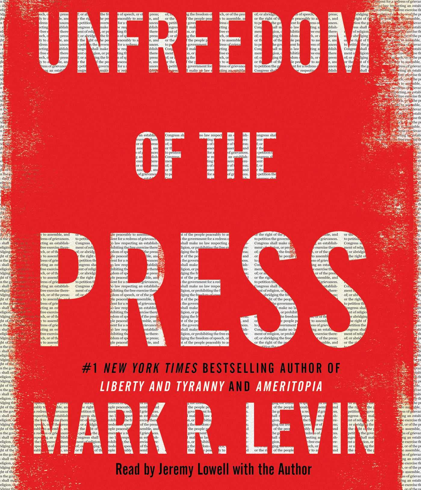 Unfreedom of the Press by Simon & Schuster Audio
