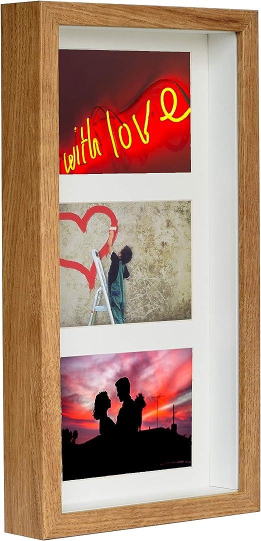 3d cadre photo étoile 12 images collage cadre image photo poster noir blanc