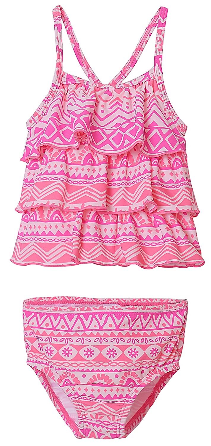 Amazon.com BeautyIn Baby Girls One Piece Swimwear Ruffle Swimsuit Striped Swimming Cosutme Clothing  sc 1 st  Amazon.com : toddler swimming costume  - Germanpascual.Com