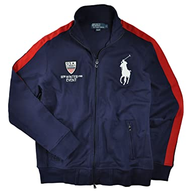 9d0e25389b2f Polo Ralph Lauren Men s Winter Event Big Pony Track Jacket
