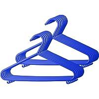 Bieco - Perchas infantiles, colores lisos azul azul