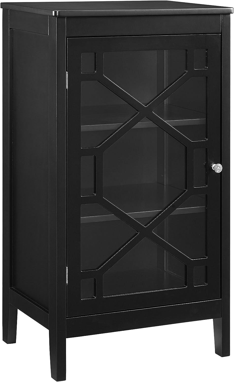Linon Cabinet, Black
