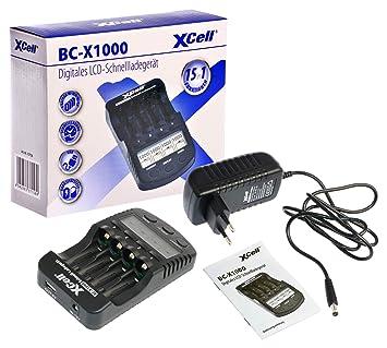 Hückmann 137156 XCell BC-X1000 - Cargador rápido con ...