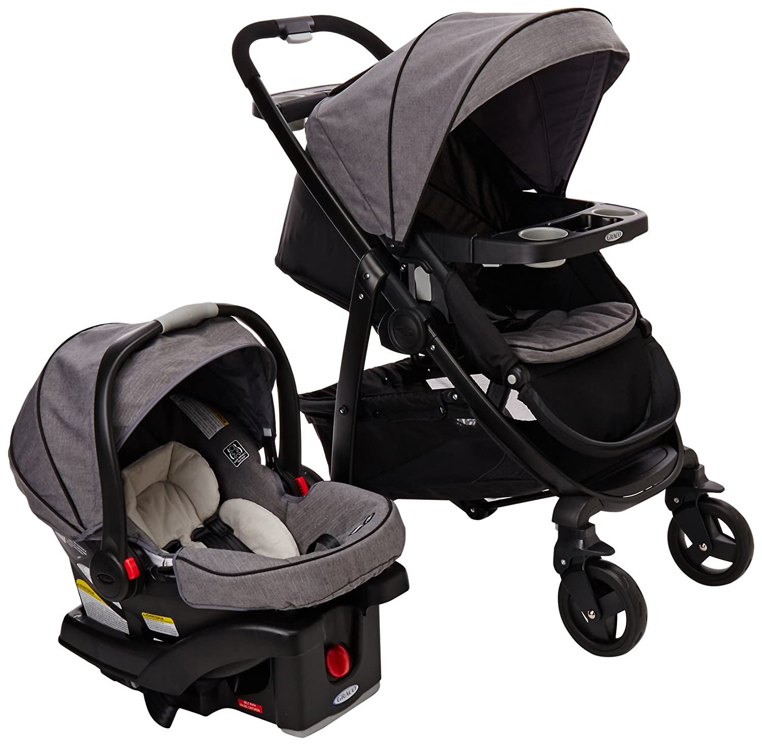Amazon Graco Modes Connect Travel System Stroller Downton Baby