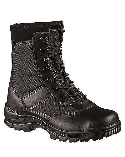Security 000000 Chaussure 0 Miltec Coquée Noir USzGVqMp