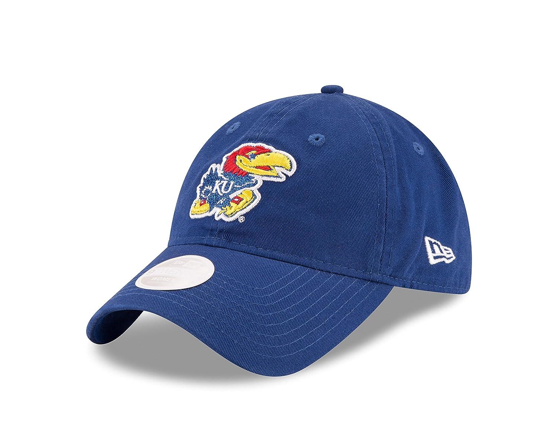 One Size New Era NCAA Kansas Jayhawks Womens Team Glisten 9TWENTY Cap Royal