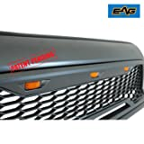 EAG Replacement Upper ABS Grille Front Grill with