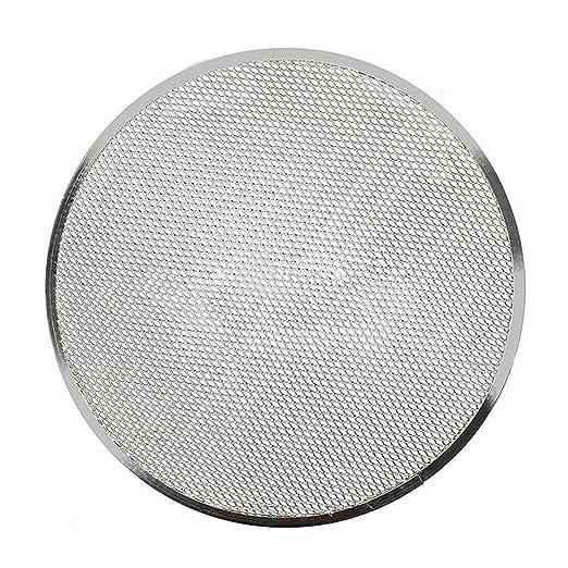 Bandeja de horno para pizza, malla plana de aluminio, bandeja de ...