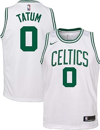 Nike Jayson Tatum Boston Celtics NBA Boys Youth 8-20 White Association Edition Swingman Jersey