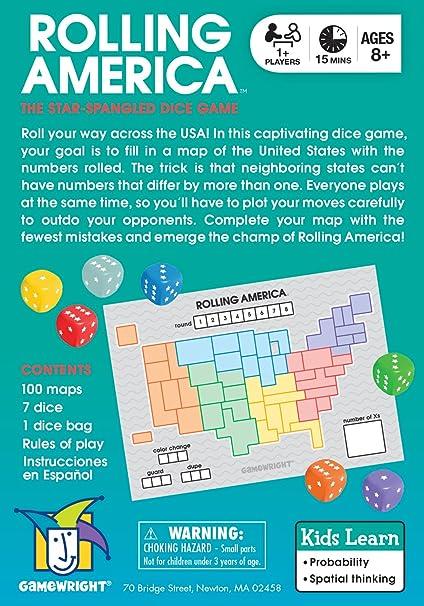 Rolling America: Amazon.es: Juguetes y juegos