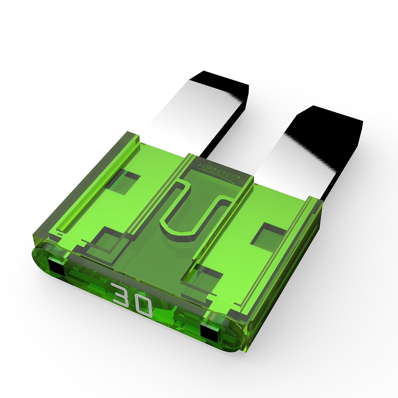 5 x Flachstecksicherung Auto Flachsicherung  15 Ampere