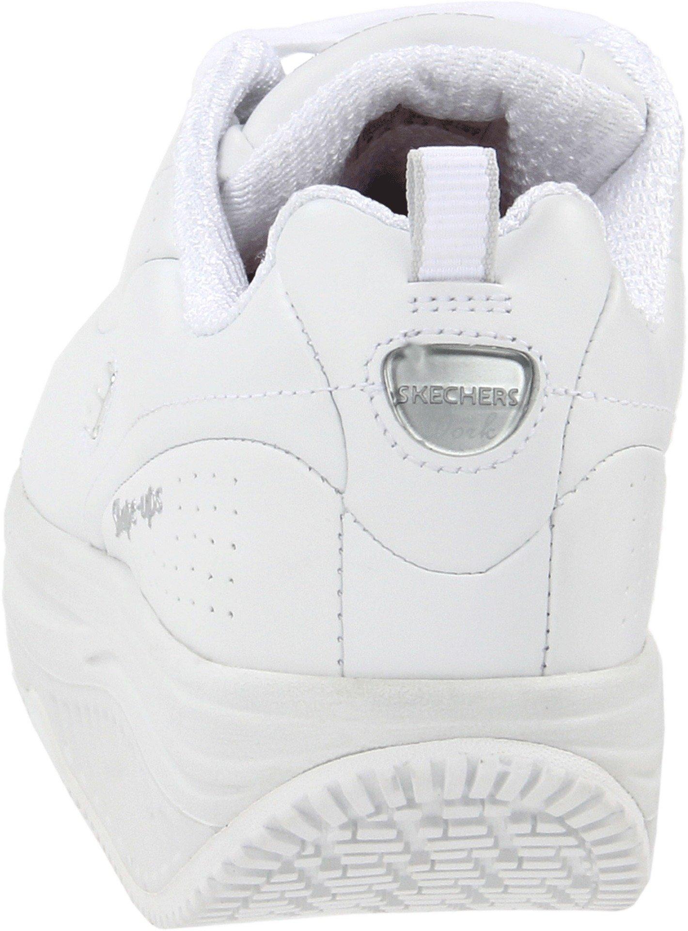 Skechers for Work Women's Shape Ups Slip Resistant Sneaker,White,10 M US by Skechers (Image #2)