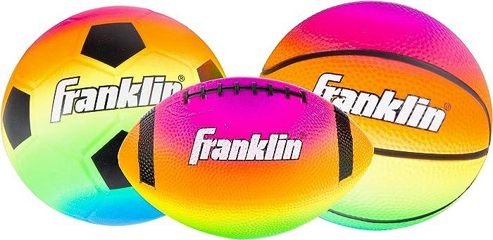 Franklin Sports Vibe Micro 3 Ball Set