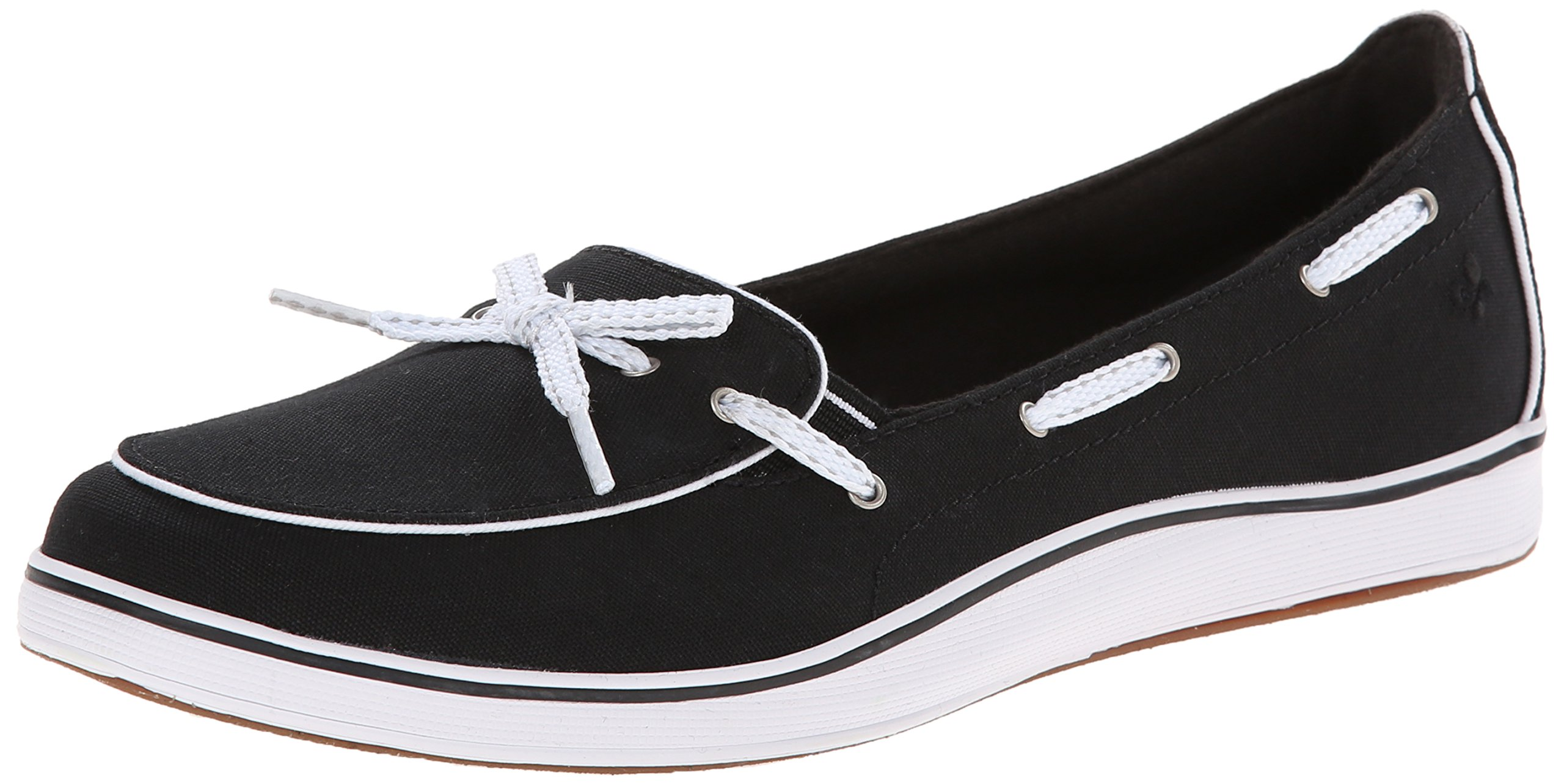Grasshoppers Women's Windham Slip-On, Black, 8.5 M US