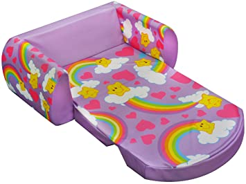 amazon com american greetings kids flip sofa care bears rainbows baby rh amazon com