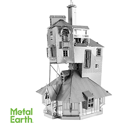 Fascinations Metal Earth Harry Potter The Burrow 3D Metal Model Kit: Toys & Games