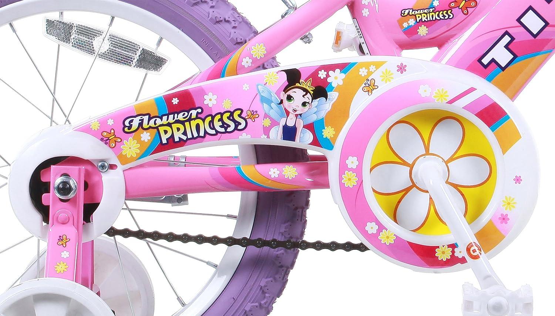 Amazon Com Titan Girl S Flower Princess Bmx Bike Pink 16 Inch