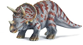 schleich triceratops dinosaur amazon co uk toys games