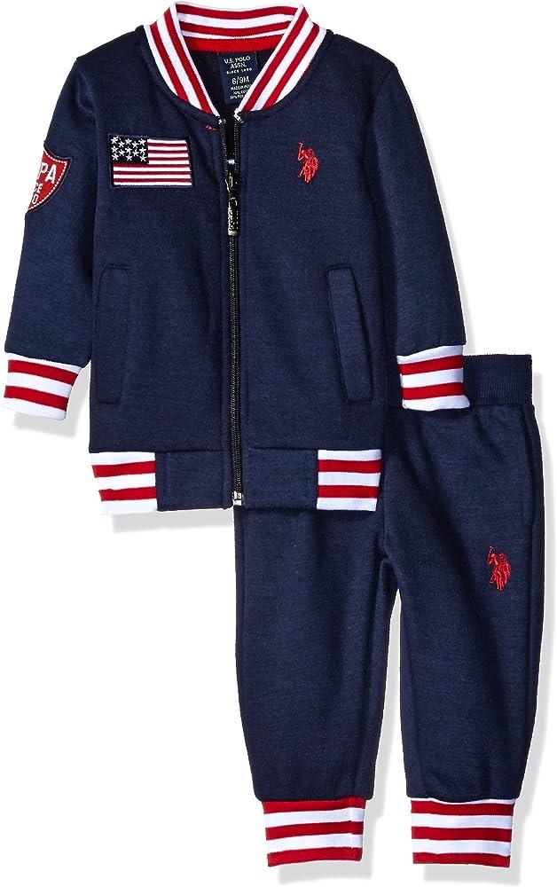 US Polo Association - Conjunto - para bebé niño Azul azul marino ...