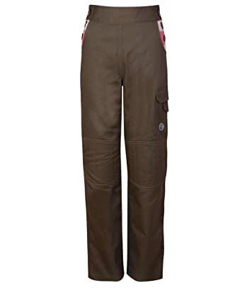 Land Girl Womens Gardening and Workwear Trousers Brown with