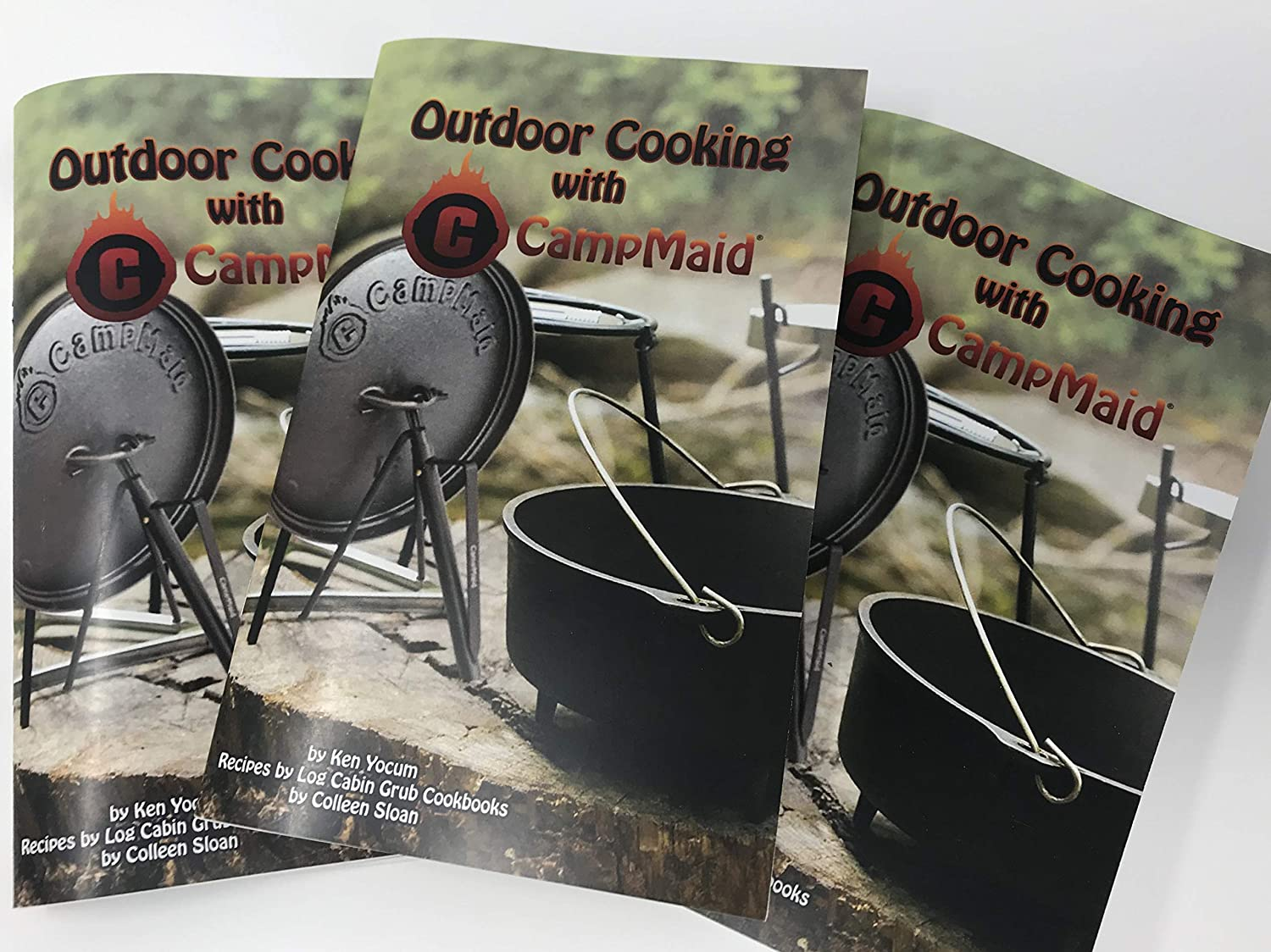 CampMaid Dutch Oven Cookbook – Easy Cooking with Cast Iron – 93 Delicious Recipe Book – One Pan for All – Healthy Recipe Book – Perfect Kitchen and Outdoor Camping Companion