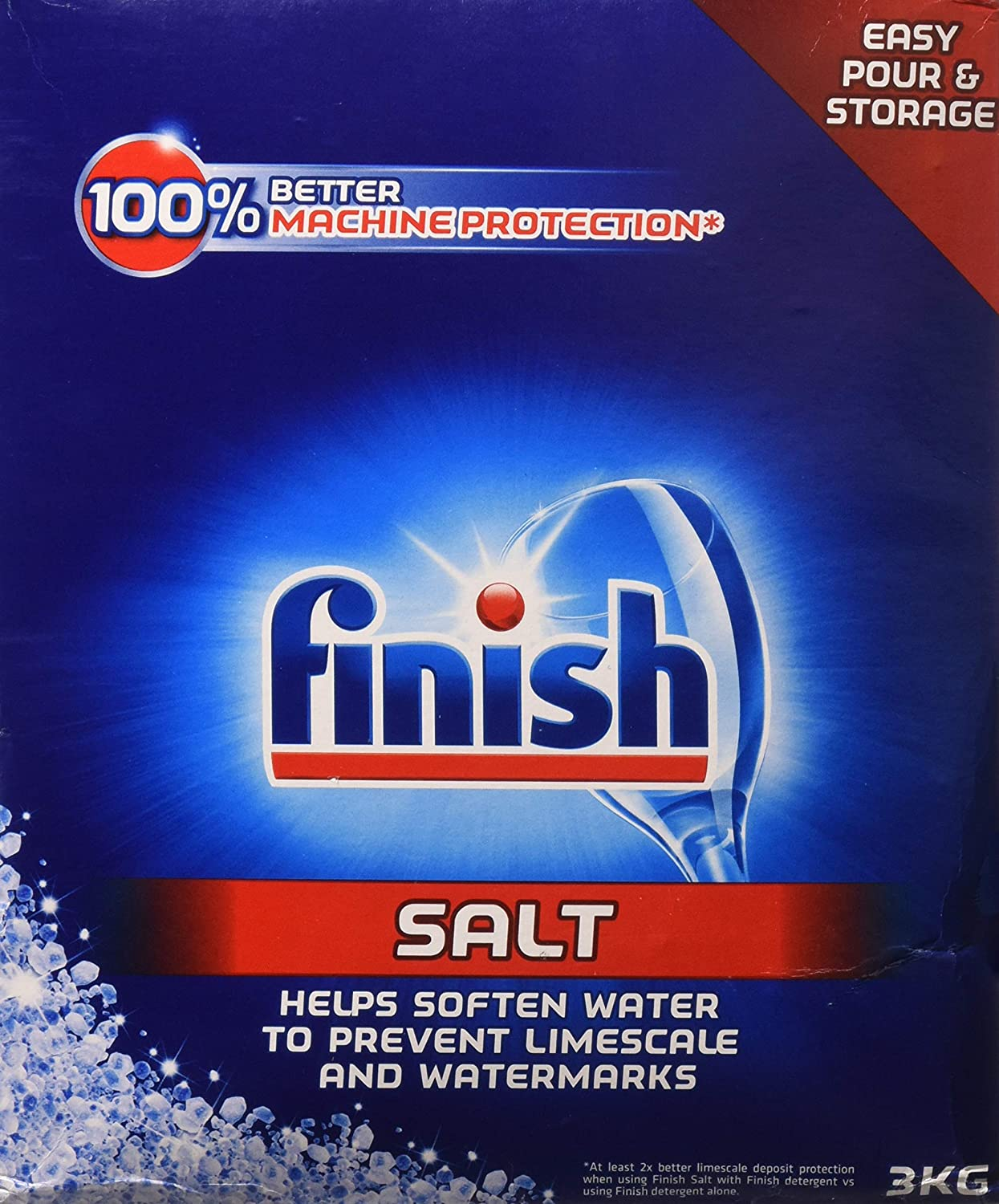 Finish Dishwasher Water Softener Salt for Bosch Dishwasher 6.6 lbs (Pack of 2)