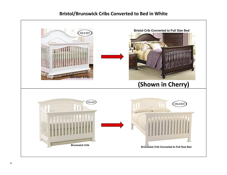 Munire Crib Full Size Conversion Kit Bed Rails White