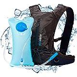 Hydration Pack for Running, Walking, Hiking, Biking - 50 oz / 1.5L Backpack Water Bladder - Lightweight Running Gear - For Women, Men, Kids