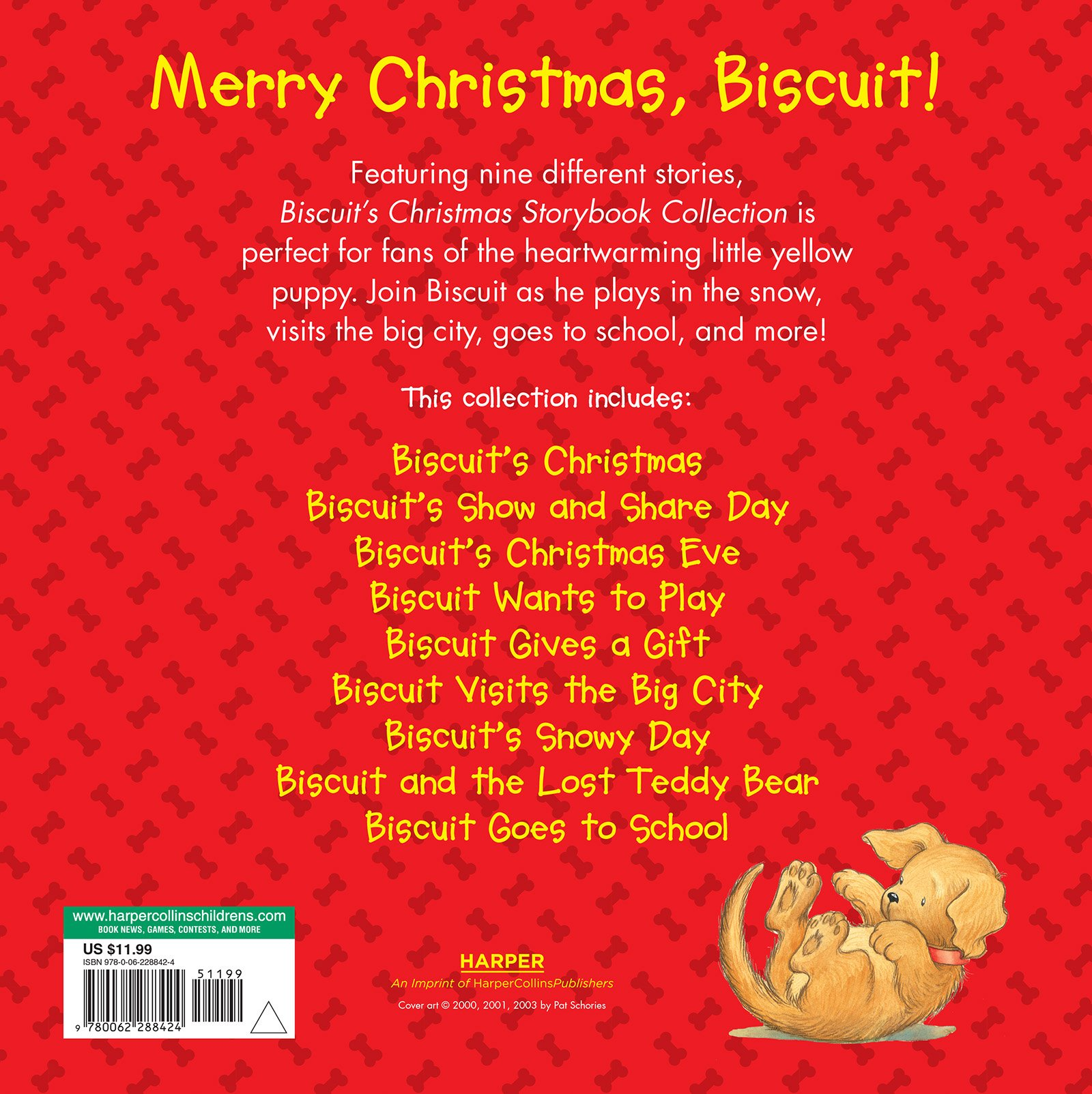 Biscuit's Christmas Storybook Collection by HarperFestival