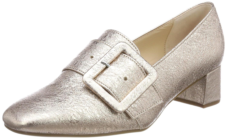 Gabor Shoes Gabor Basic, Zapatos de Tacón para Mujer 38 EU Beige (Muschel)