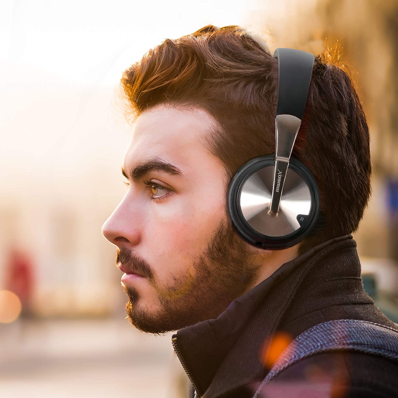 Riwbox XBT-90 Foldable Wireless Bluetooth Headphones