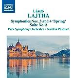 Lajtha: Symphonies Nos. 3 And 4 'Spring' [Pécs Symphony Orchestra, Nicolás Pasquet] [Naxos: 8573645]