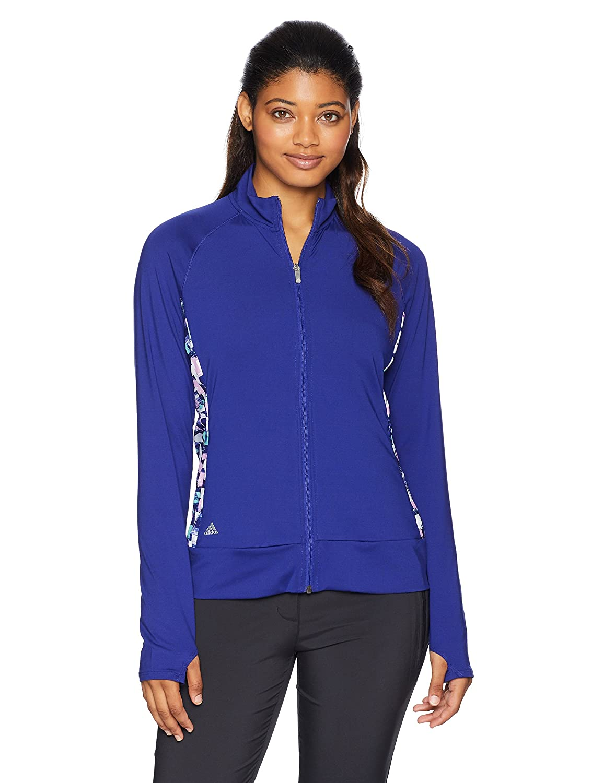 Adidas GolfレディースRangewear Full Zipジャケット Large Real Purple/Real Purple B079J82ZBP