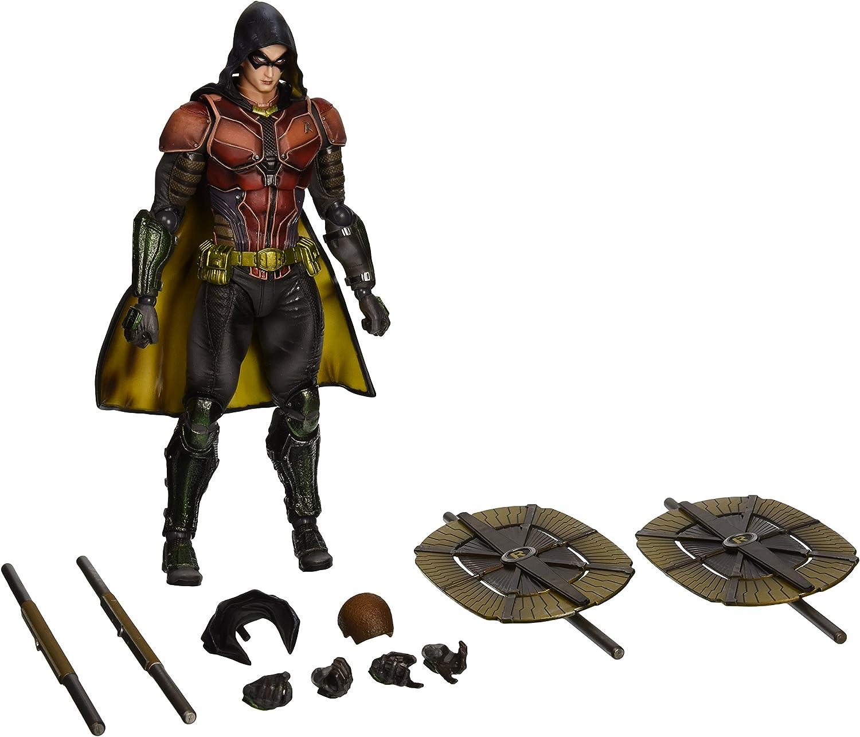 Play Arts Kai Batman Arkham Knight Nightwing Robin Action Figure Toy Doll Model