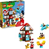 LEGO DUPLO Disney Mickey's Vacation House 10889 Toy House Building Set for Toddlers with Minnie Mouse, Goofy, Pluto and…