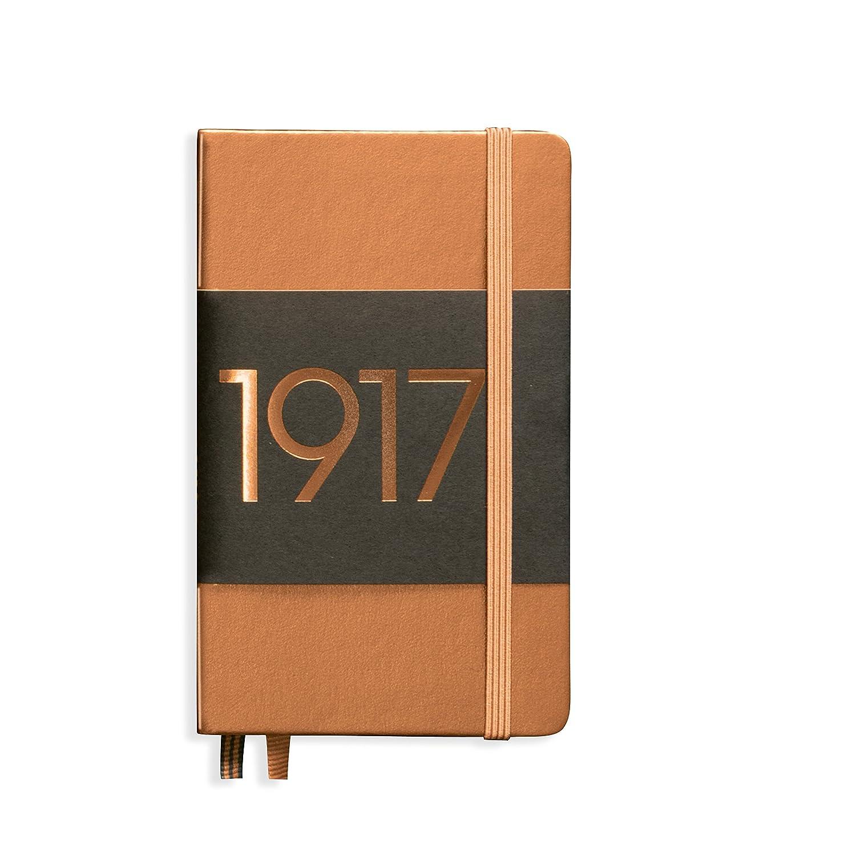 Leuchtturm1917 Metallic Edition Notebook Pocket Ruled Silver