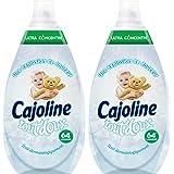 Cajoline Adoucissant Concentré Intense Tout Doux 960ml 64 lavages - Lot de 2